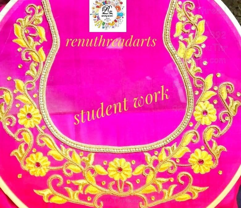 ADMISSION OPEN FOR AARI HAND EMBROIDERY