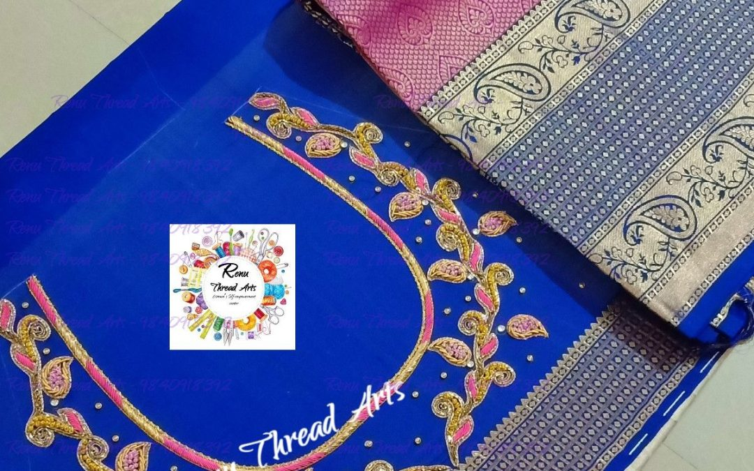 Brides collection of Renu Thread Arts